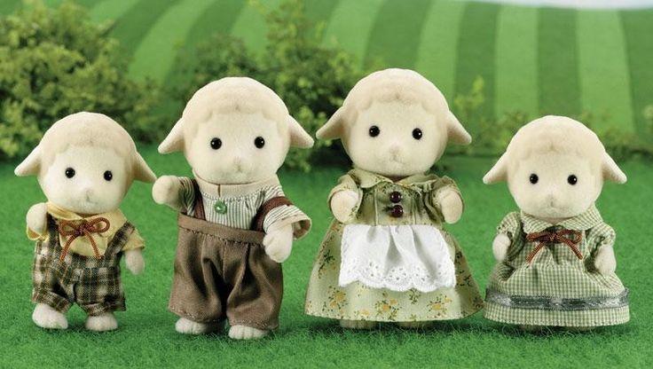 Sylvanian Families- Sheep Family
