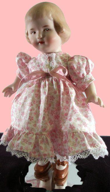 Porcelain Dolls for Sale - Heubach's Sunflower