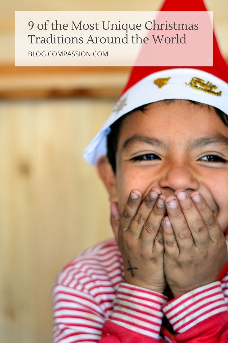 10 of the Most Unique Christmas Traditions Around the World