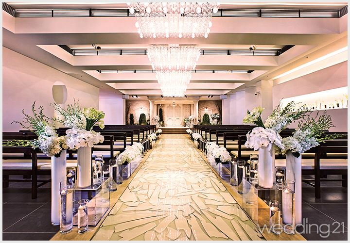 [웨딩홀] 결혼식, 작품이 되다. 신개념 테일러 메이드 웨딩 공간