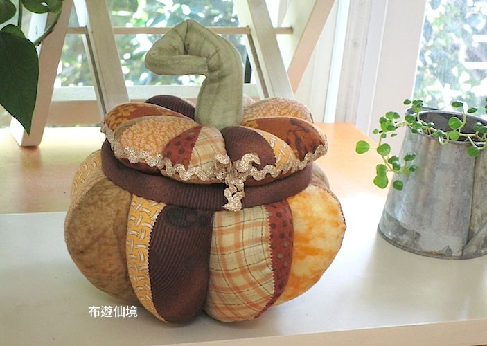 www.wonderland22.com 布遊仙境*南瓜置物盒