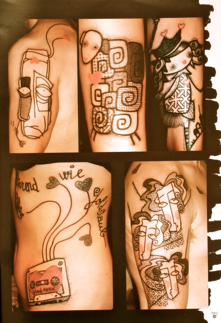 Tattoo by Noon.. Love the style!