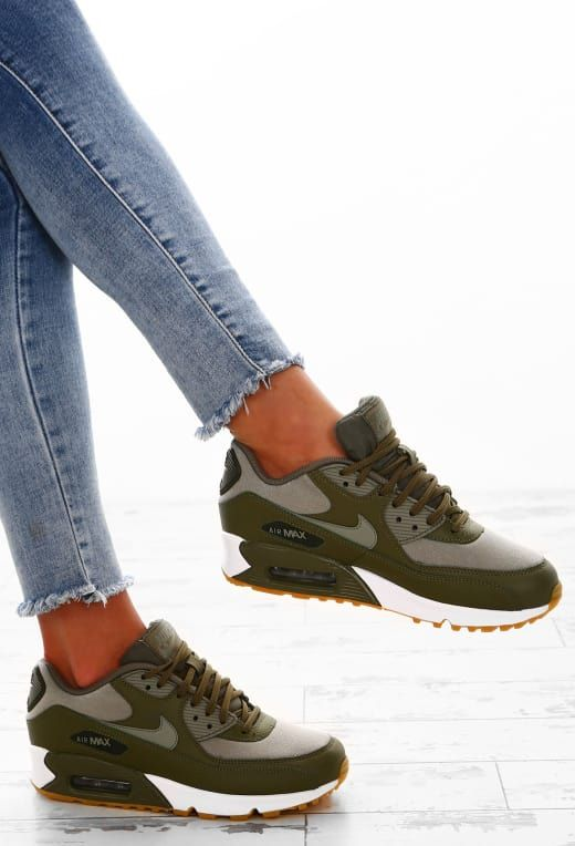 huge selection of bc88d 90211 Nike Air Max 90 Khaki Trainers