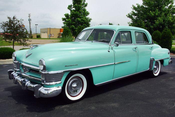 1951 Chrysler New Yorker 4 Door Sedan Chrysler New Yorker Chrysler Chrysler Cars