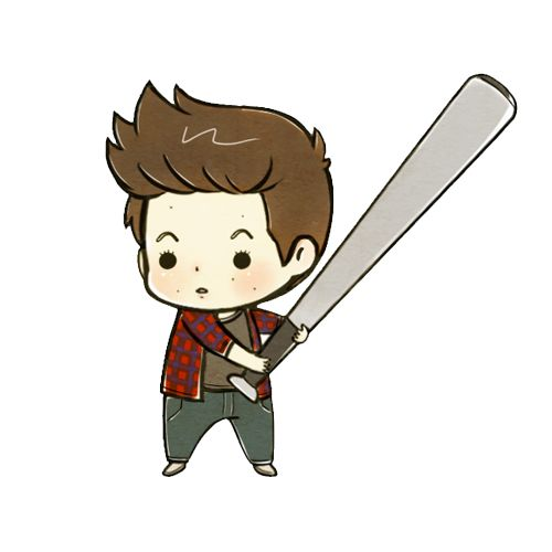 tobyness: Stiles from Teen Wolf Chibi Set (x)