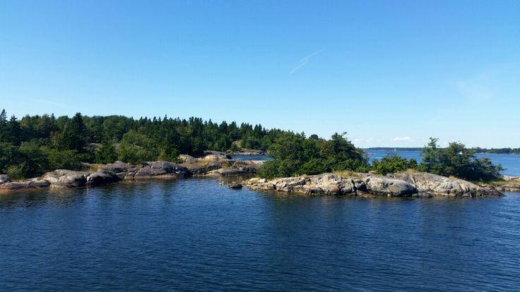 Arcipelago north of Stockholm