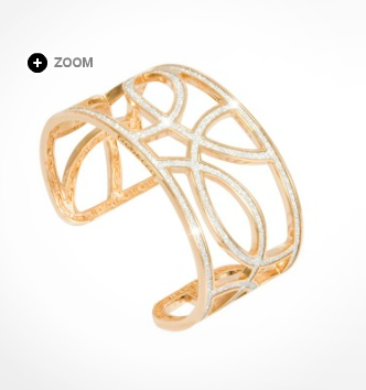Diamond cuff bracelet... new  rebecca christmas collection