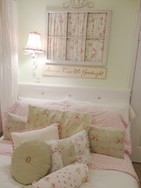 Shabby chic style home tour - Debbiedoo's