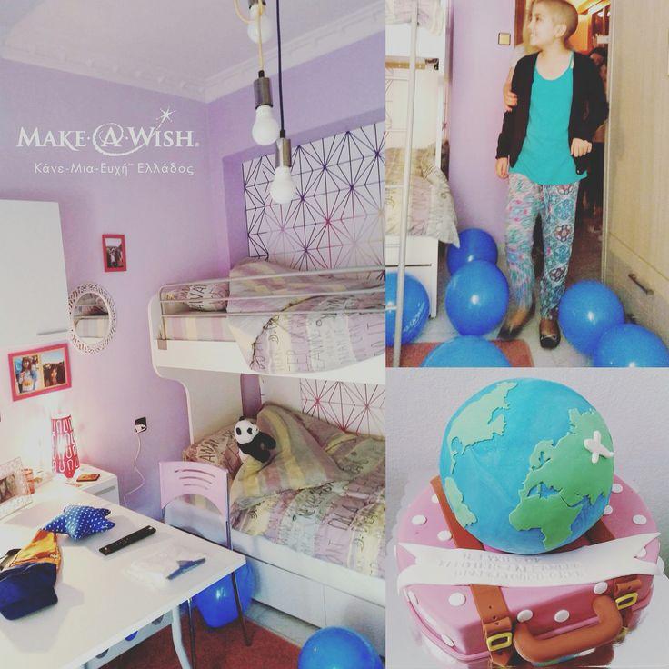 Η ευχή της 10χρονης Αλεξάνδρας-Χαριτίνης να αποκτήσει το δωμάτιο που ονειρευόταν, πραγματοποιήθηκε ! Εμείς, προσφέραμε μοκέτα απο τη συλλογή μας, πιστοποιημένη για μη αλλεργιογόνες χρωστικές ουσίες.  #makeawishgreece #makeawish #wish #colorecolori #carpet #home #room #playroom #kidsroom #kids #strongkids #health #greece #greecegirl #greekgirl #greekfamily
