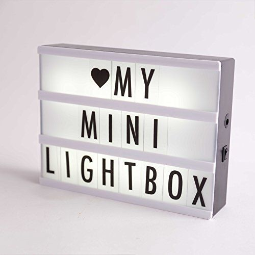 Enhanced Cinematic Light Up Box with Letters & Emojis, Lightbox A4, Excellent Home Decor Gift by California Basics #Enhanced #Cinematic #Light #with #Letters #Emojis, #Lightbox #Excellent #Home #Decor #Gift #California #Basics