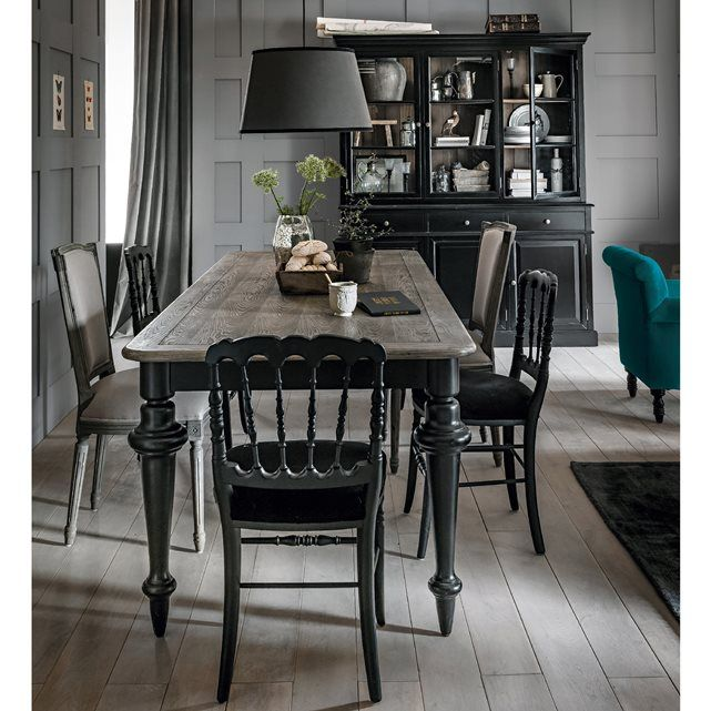 cette grande table rectangulaire style dandy chic donnera du charme votre int rieur et vous. Black Bedroom Furniture Sets. Home Design Ideas