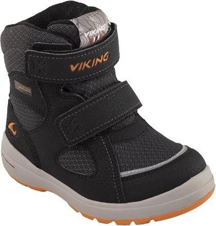Viking Ondur GTX Vinterkänga, Black/Orange 20