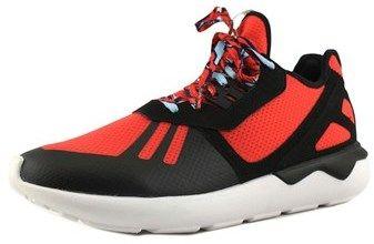 adidas Tubular Runner Men Round Toe Synthetic Black Running Shoe.
