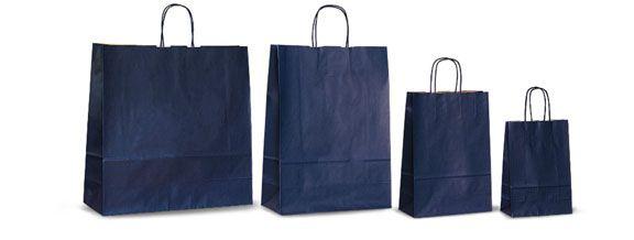 Синие бумажные пакеты, производство бумажных пакетов, крафт-пакеты.