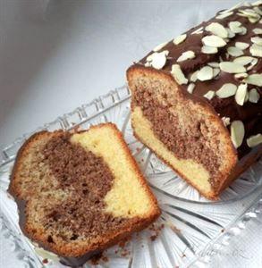Picture of Recept - Čokoládovo - ořechový chlebíček