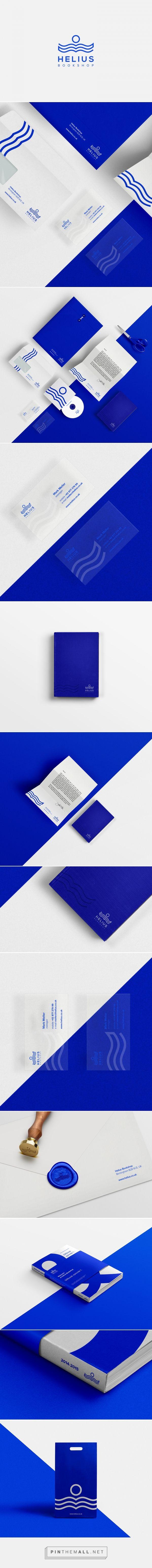 Helius bookshop Branding on Behance | Fivestar Branding – Design and Branding Agency & Inspiration Gallery