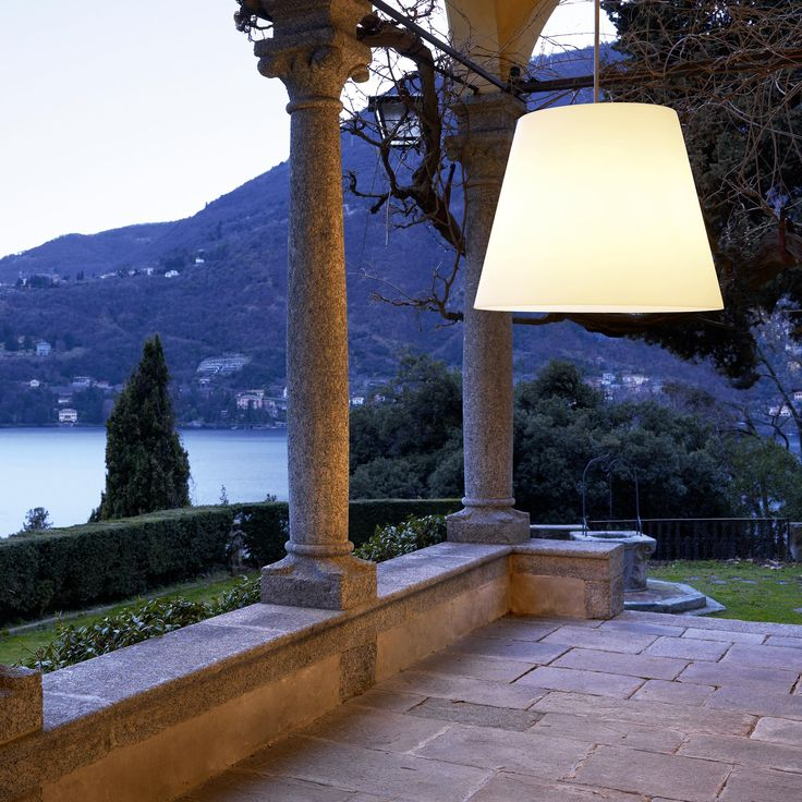 13 best exterior pendants images on pinterest exterior lighting big outdoor lamp with a translucent white polyethylene diffuser available in a floor version aloadofball Gallery