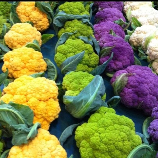 Farmers market - cauliflower delights