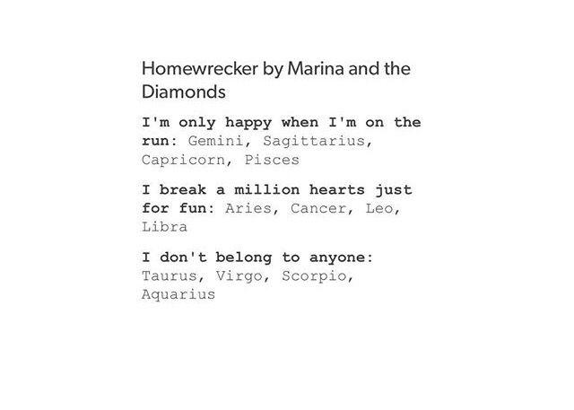 Marina And The Diamonds Lyric Drawing