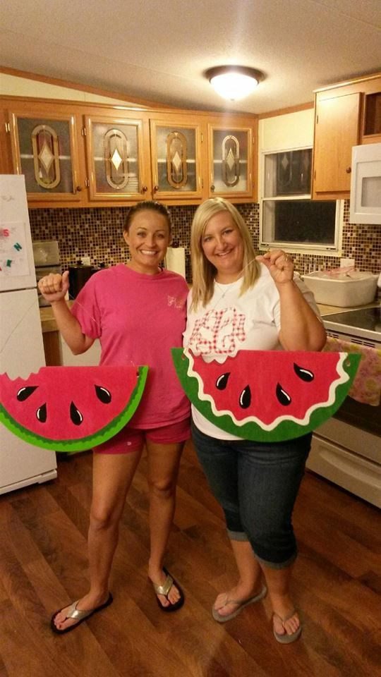 Unfinished Wooden Watermelon Slice - DIY Summer - Decor - Home Decor - Beach House Decor - Wood Decor - Door Hanger - Lake House by embellishboutiquellc on Etsy