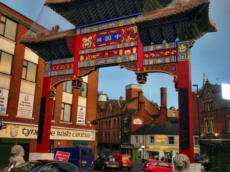 Chinatown, Newcastle upon Tyne, England, UK
