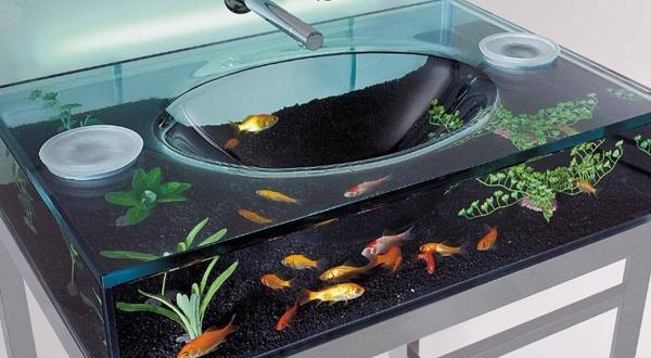 Cooool!Ideas, Kids Bathroom, Aquariums Sinks, Fish Tanks, I Want This, Fish Aquariums, Bathroom Sinks, House, Kid Bathrooms