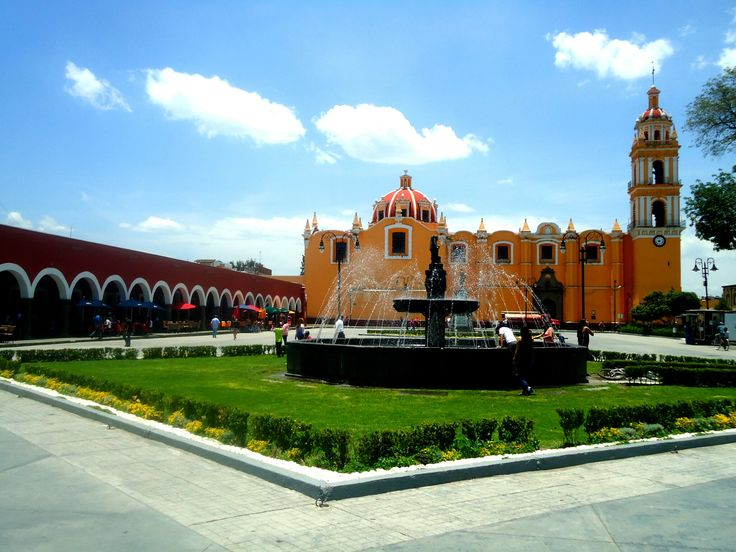 Plaza de la Concordia, Cholula, Puebla