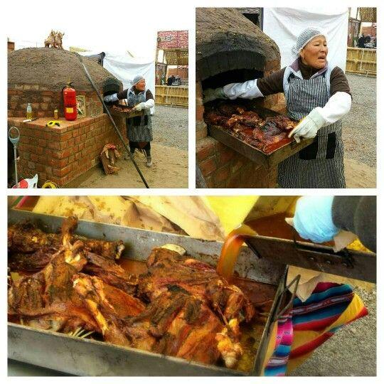 I bet this mama cooks better lamb than your mama.   #FMFinPeru #Lima #Peru #Mistura #Mistura2014 #foodfestival #travel @peru
