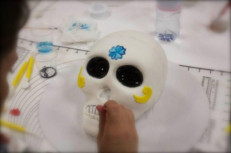 Formação de Halloween, promovida pela Arte&Bolos, com a fantástica Cake Designer Sofia Salvador (Mnhammy - https://pt-br.facebook.com/pages/Mnhammy/157709861054848 )