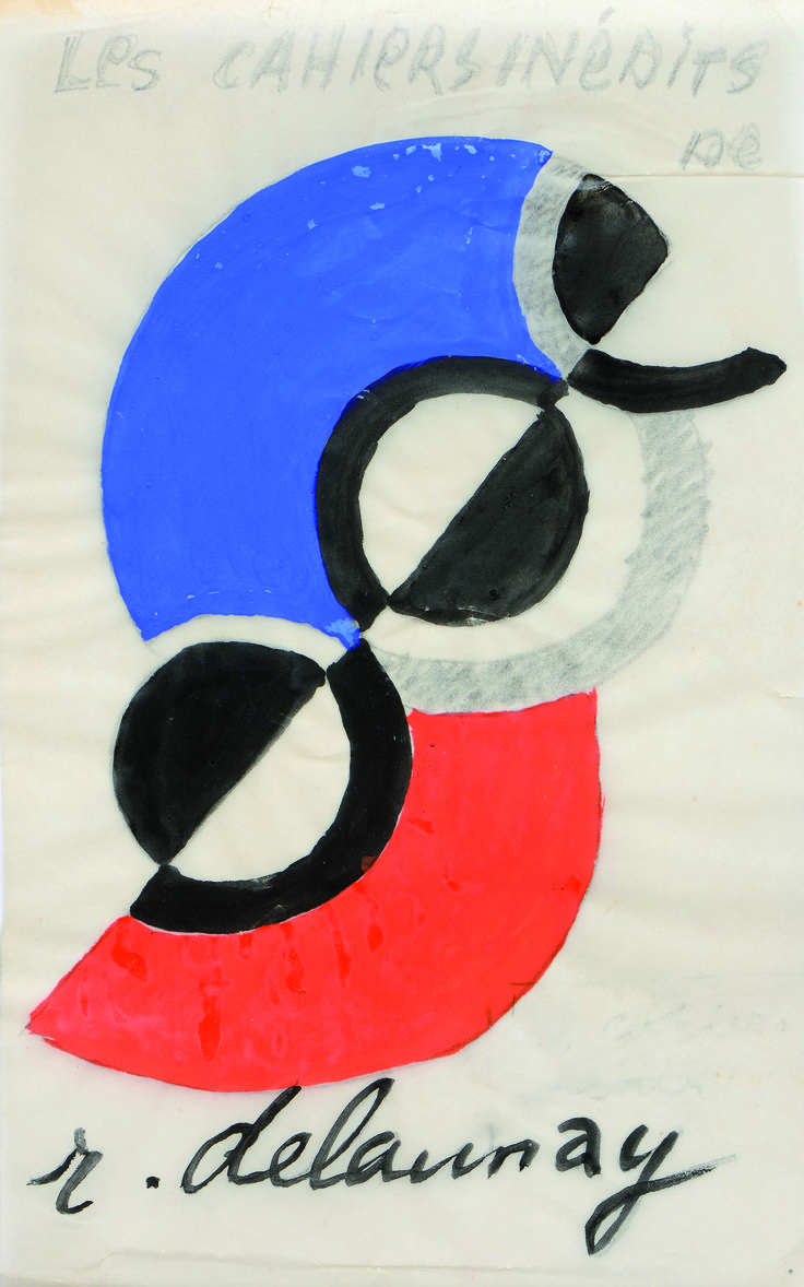 Sonia Delaunay Letter S
