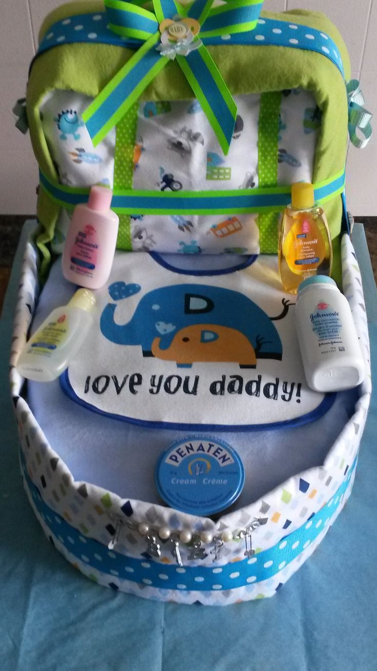 Diaper Bassinet for a baby shower