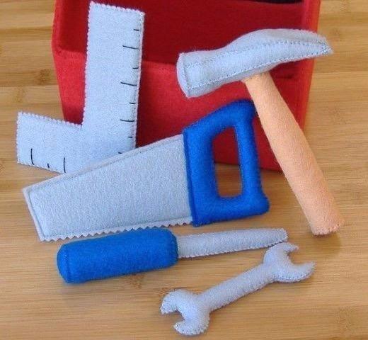 Игрушки из фетра для малыша