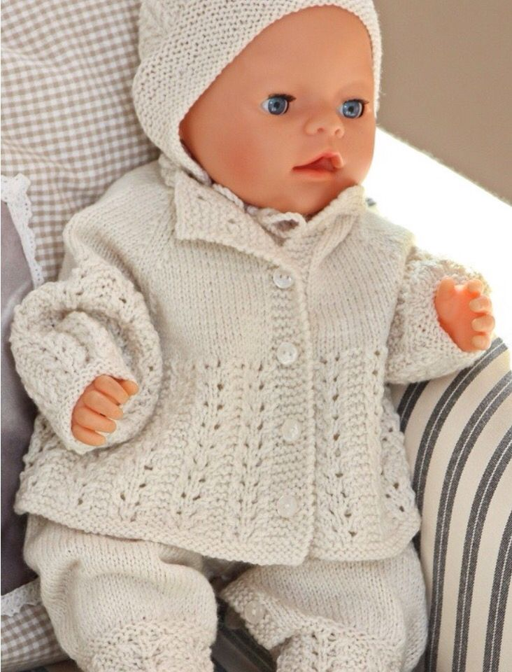 7 Best Free Knitting Images On Pinterest Baby Doll Clothes Baby