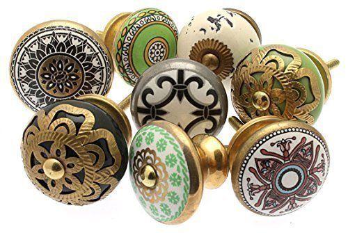Vintage-Chic MANGO-127 Lot de 8 boutons de tiroir shabby chic variés en céramique Vintage-Chic http://www.amazon.fr/dp/B00GVYYG4A/ref=cm_sw_r_pi_dp_Bszdvb1MW6HEG
