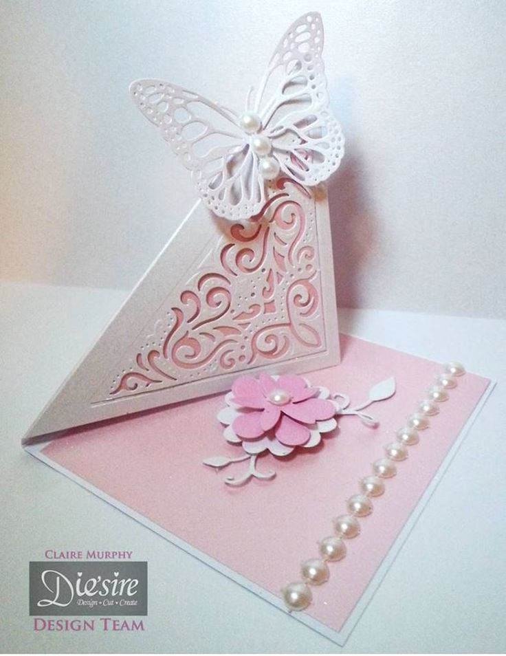 Card Making Ideas Using Dies Part - 25: #Card Created Using Dieu0027sire Create-a-Card Decorative Dies From #