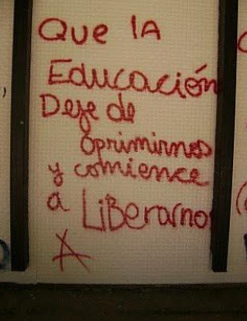que la #educacion deje de OPRIMIRNOS y comience a LIBERARNOS ...  transformar no capa chapapintura
