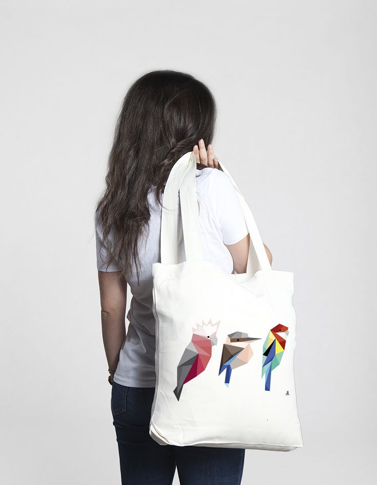 Birds tote bag from The Club Of Odd Volumes via The Third Row