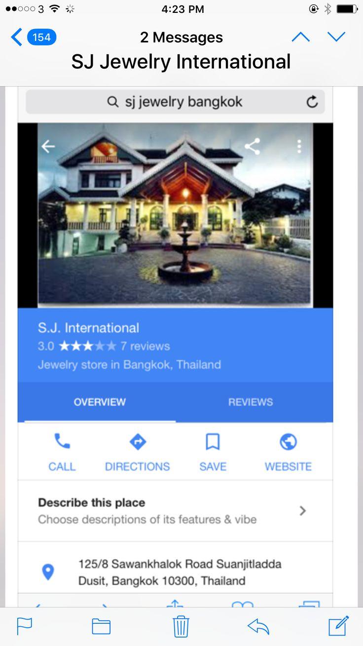 Jewerly store in Bangkok
