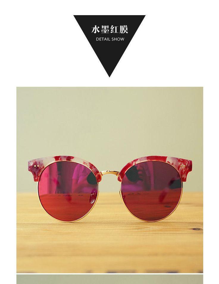 Biu Style Round Sunglasses   YESSTYLE
