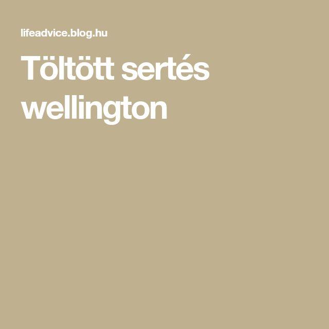 Töltött sertés wellington
