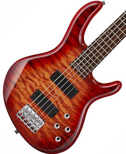 cort action v dlx crs cherry sunburst 5 string electric bass guitar bass guitars pinterest. Black Bedroom Furniture Sets. Home Design Ideas