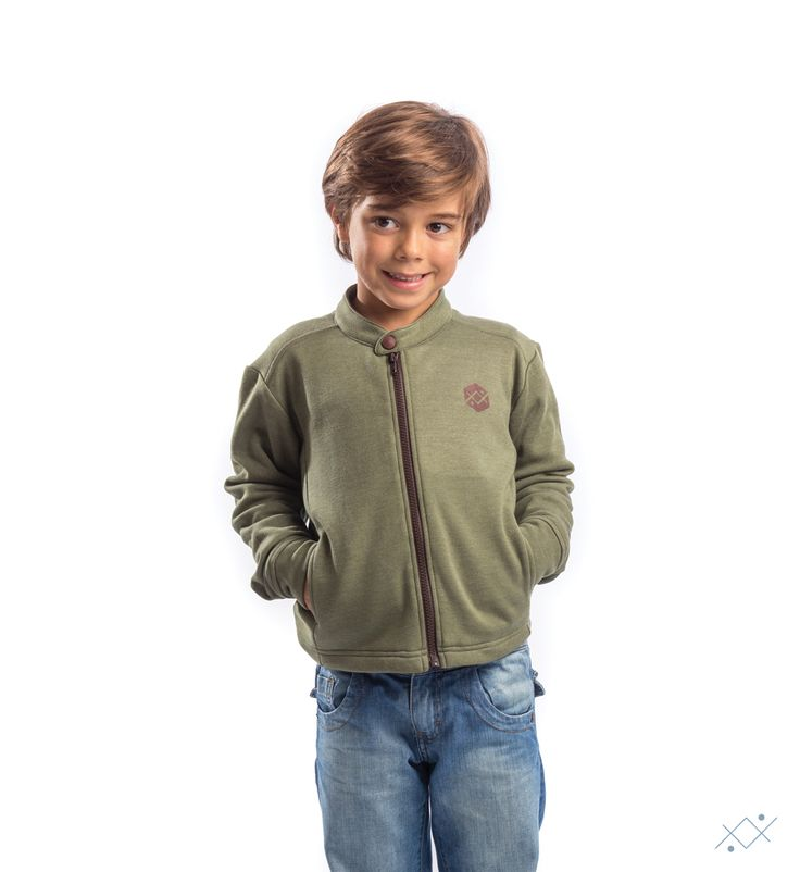 """Matched with a """"jeans"""", gives a sleek and irreverent """"look"""" to your child.  Ocean Stitch - small details proudly made in Portugal"""