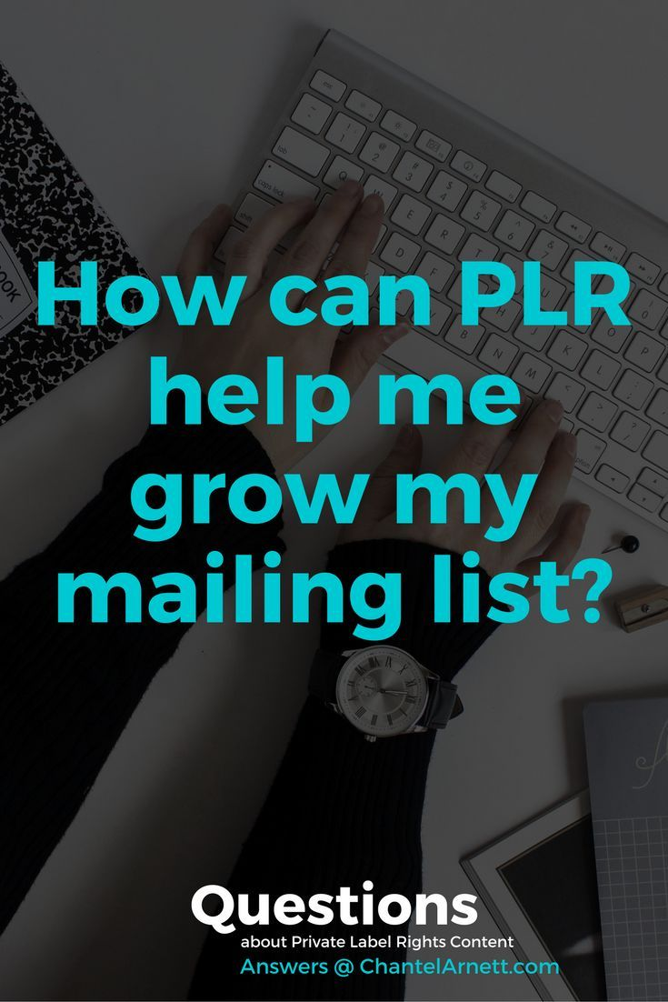 How can PLR help me grow my mailing list? Get the answer to this question + 24 others and put PLR to work to grow your blog and business! | PLR content | PLR articles | content creation | content creation ideas | content creation tips | content creation social media | content creation instagram |