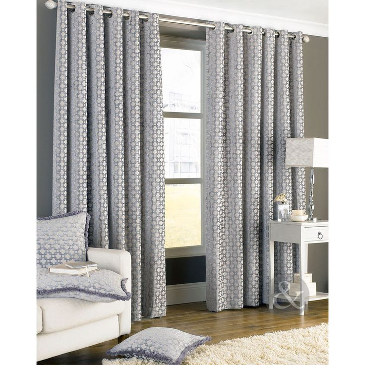 1000 ideas about silver grey curtains on pinterest. Black Bedroom Furniture Sets. Home Design Ideas