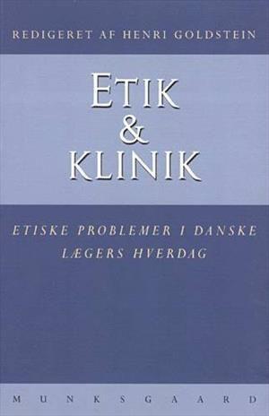 Læs om Etik & klinik - etiske problemer i danske lægers hverdag. Udgivet af Munksgaard. Bogens ISBN er 9788716120908, køb den her