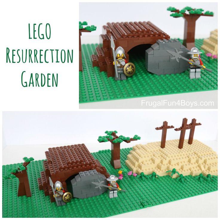 Build a LEGO Resurrection Garden for Easter
