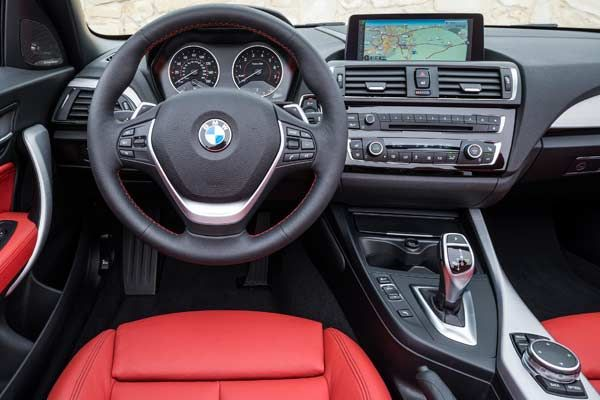 How do you like your BMW interior?  The latest 228i is a perfect sized sporting model in the premium sub-compact division. It packs enough power for the ride and features the driving comfort of any BMW. In addition to the standard BMW amenities offered such as the iDrive, dual-climate control, and the optional Navigation with Touch Controller, the 2016 version receives more upgraded standard equipment from the prior year model.  #bmw2series #228i #convertible #bmw228i #coupe #red