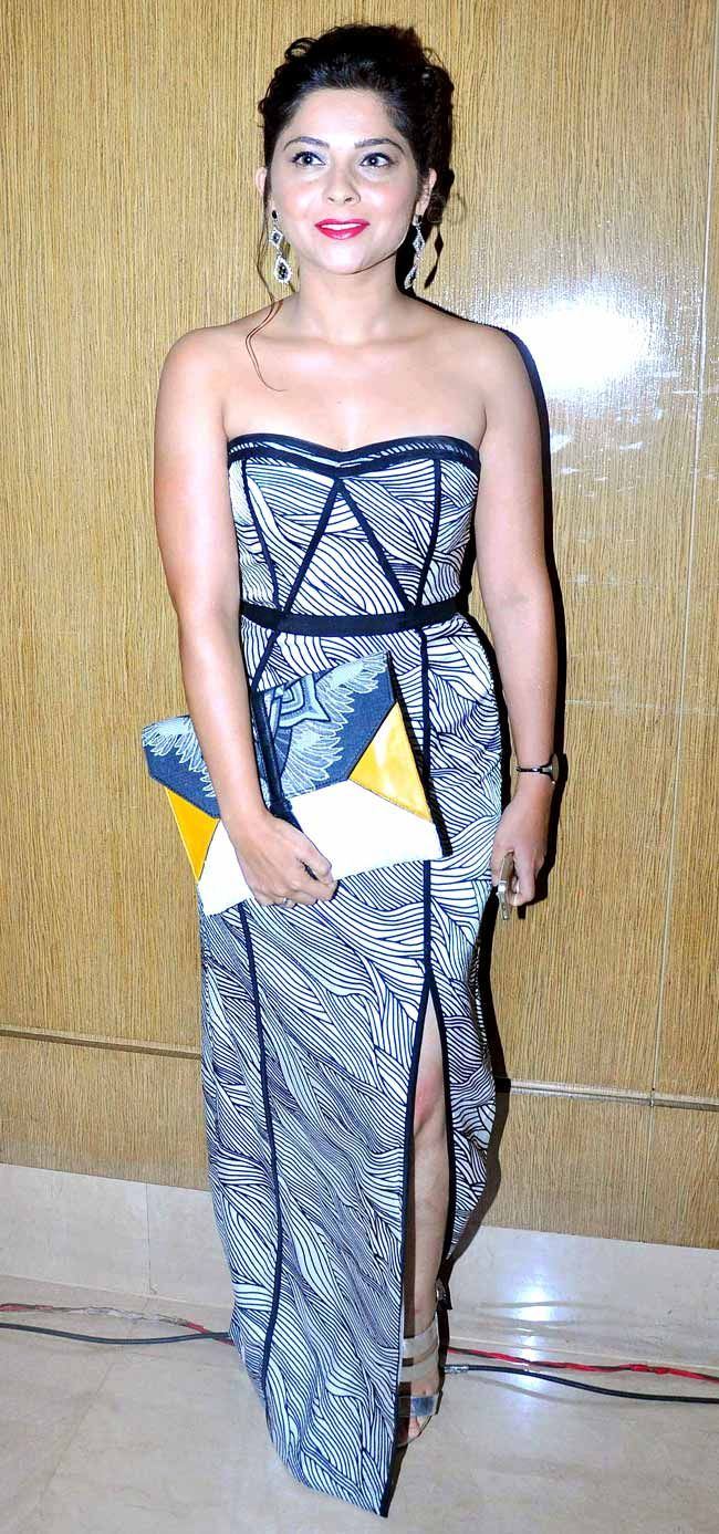 Sonalee Kulkarni at the launch of 'Lai Bhari'. #Style #Bollywood #Fashion #Beauty #Marathi
