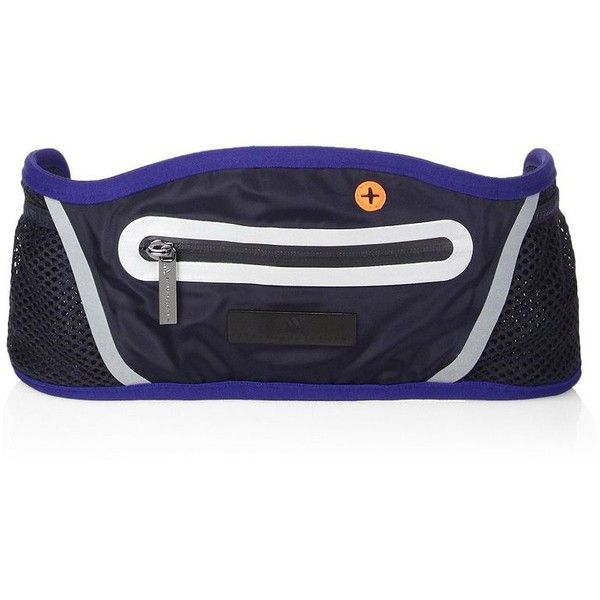 adidas by Stella McCartney Running Belt Bag ($50) ❤ liked on Polyvore featuring bags, belt pocket bag, adidas bag, belt fanny pack, fanny pack bags and bum bag