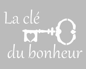 Pochoir adhésif repositionnable de fabrication artisanale française dans une…